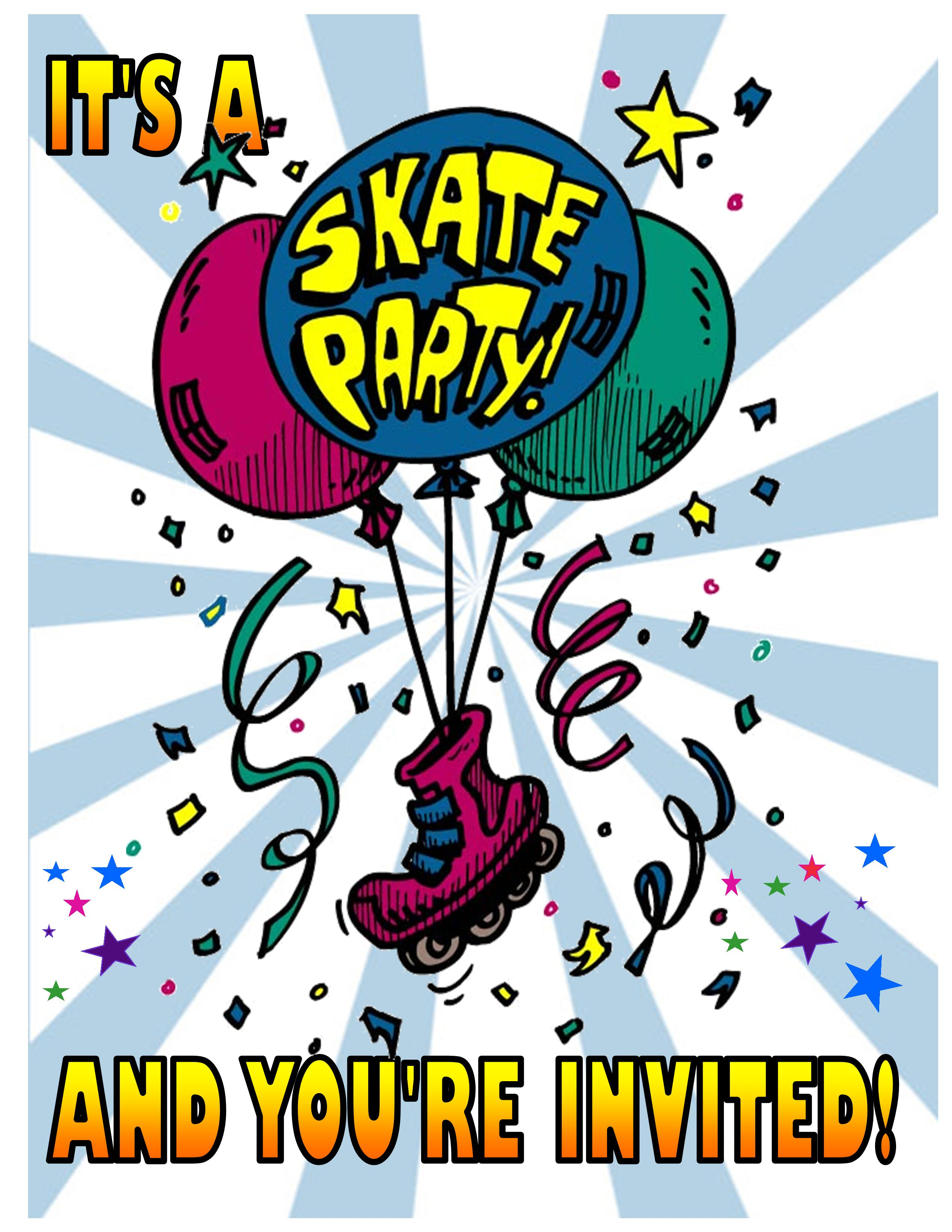 Invitations - Front Page Balloons
