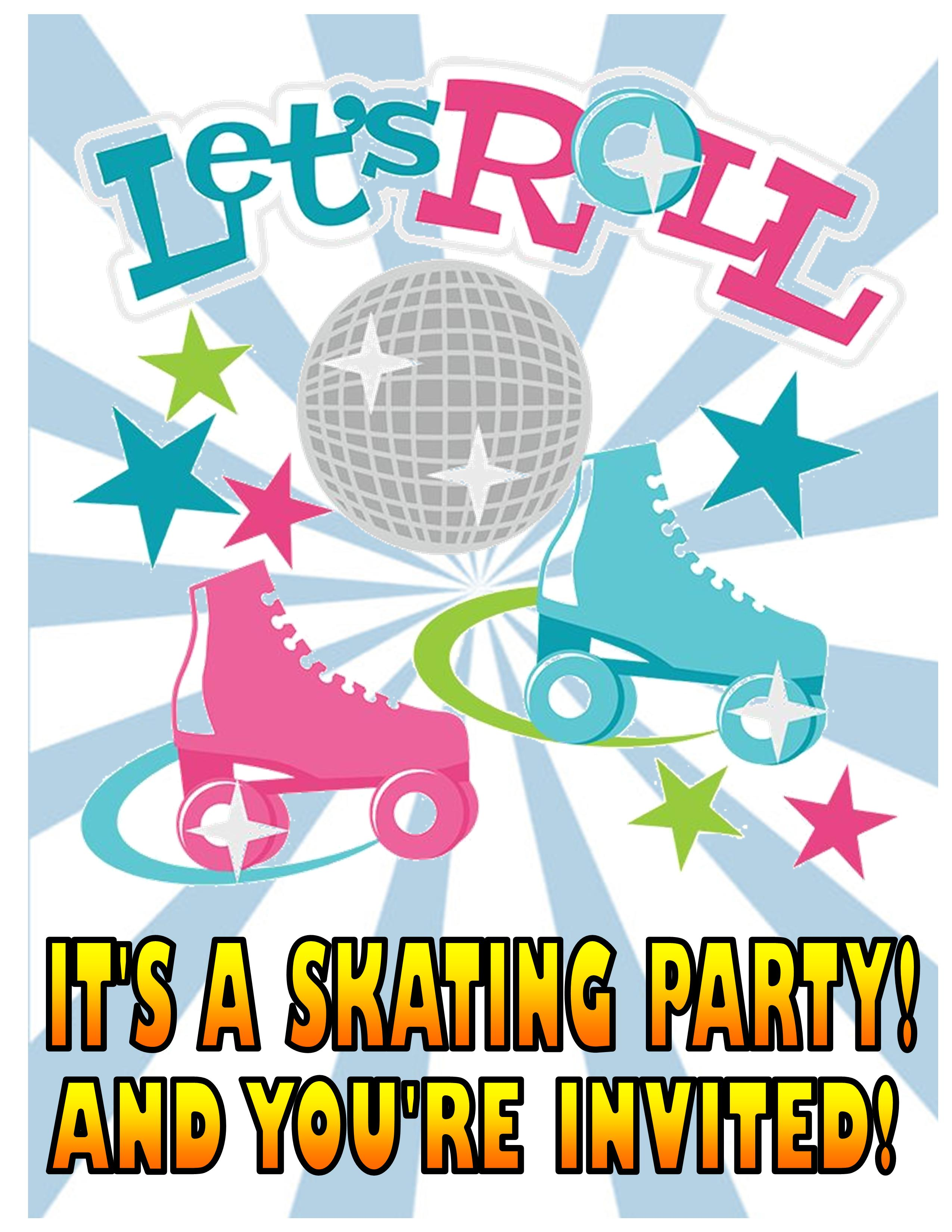 Invitations - Front Page Skates