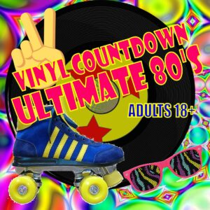 Adult - Vinyl Countdown Ultimate 80's Event